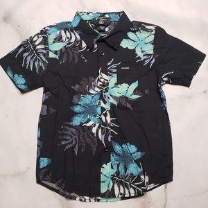 NWT Volcom Tropical Hawaiian Toursit shirt